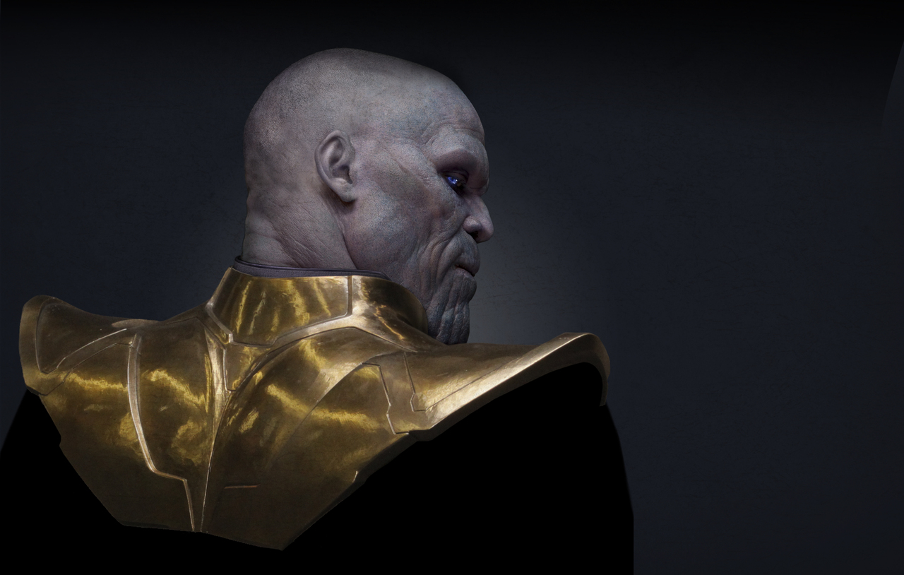 10 amazing thanos wallpapers   geekshizzle